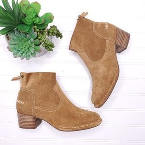 Ugg Bandara Suede Ankle Boots Sz 7